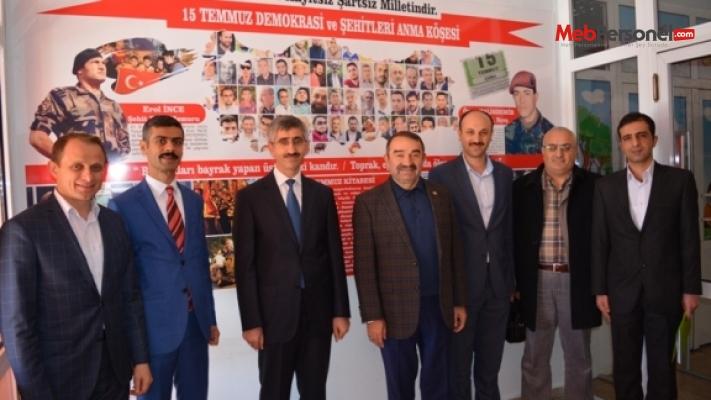 MEB Din Öğretimi Genel Müdürü Nazif Yılmaz, Artvin'i Ziyaret Etti