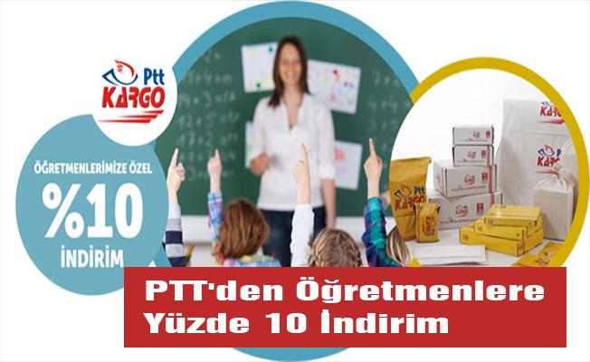 PTT'den Öğretmenlere Yüzde 10 İndirim