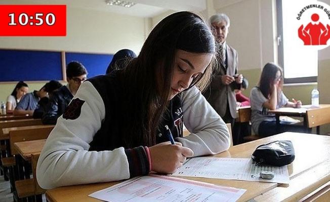 T.C. İnkılap tarihi ve Atatürkçülük sınavı sona erdi!
