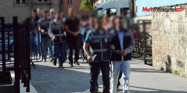Tokat'ta hakim ve öğretmenlerin de olduğu 8 kişi gözaltına alındı