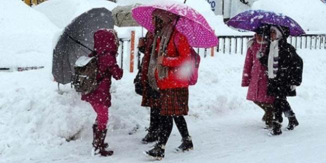 22 Aralık'ta kar yağışı nedeniyle eğitime ara verilen iller