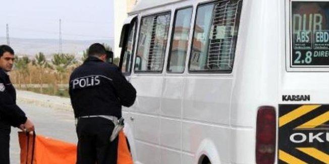 Anaokulu öğrecisi, servis minibüsünün altında öldü