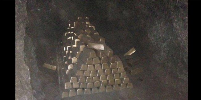 Antalya'da bulunduğu iddia edilen külçe altınlar alçıdan yapılmış