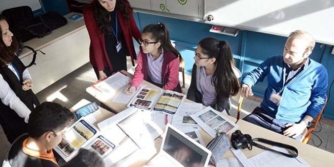 Öğrenciler, 'Game Over' isimli İngilizce gazete çıkardı