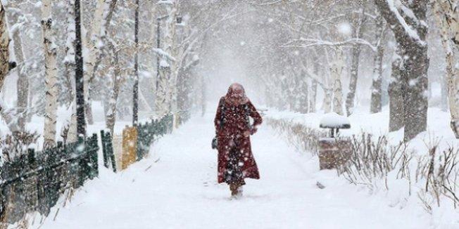3 ilde yoğun kar yağışı bekleniyor