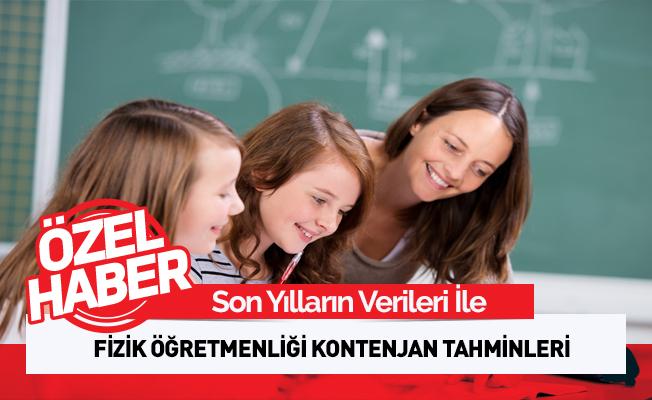 Fizik Öğretmenliği Tahmini Atama Kontenjanı