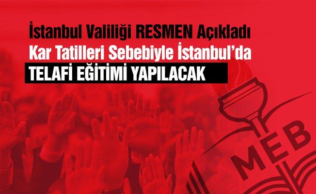İstanbul'da Kar Tatili Telafi Derslerinin Yapılması Kesinleşti