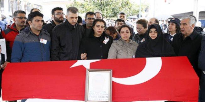 Kahraman polisin eşi: Allah senden razı olsun