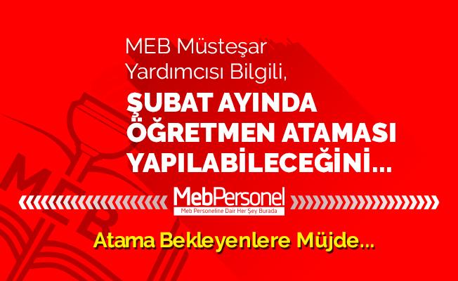MEB Müsteşarı: Şubat ayında öğretmen alımı yapılabilir