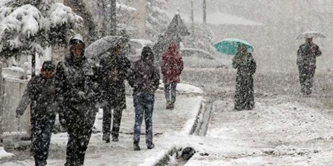 Meteoroji uyardı! Yoğun kar yağışı geliyor