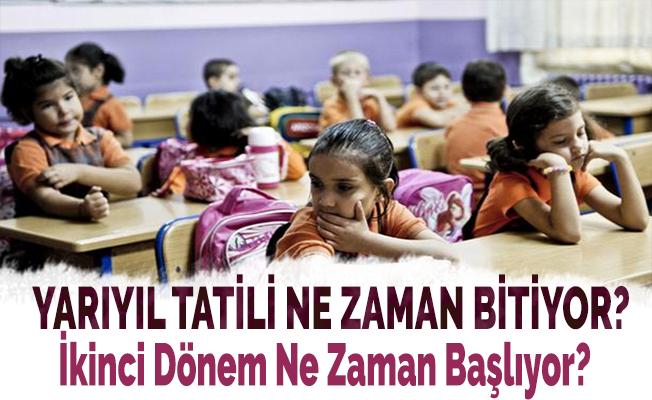 Sömestr Tatili Ne Zaman Sona Eriyor! İşte Okulların Açılacağı Tarih