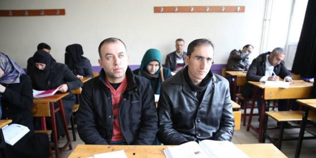 Suriyeli öğretmenlere eğitim