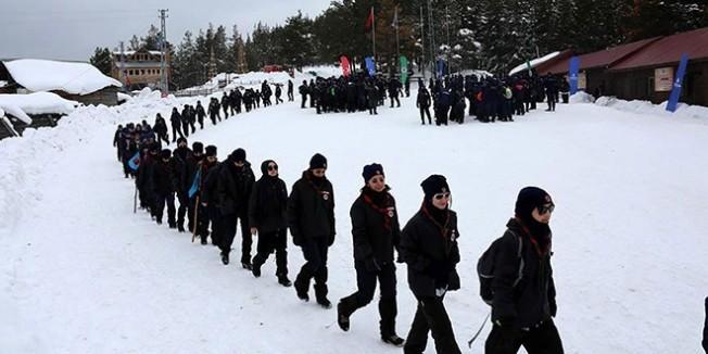 Bolu'da yarıyıl tatilinde bin 250 öğrenci kamp yaptı
