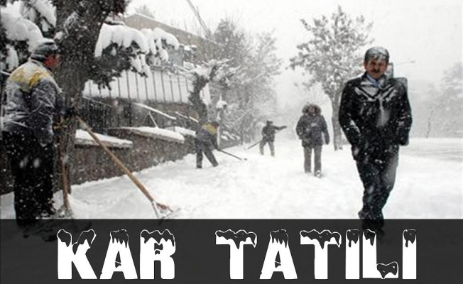 Kastamonu'da Okullara Kar Tatili