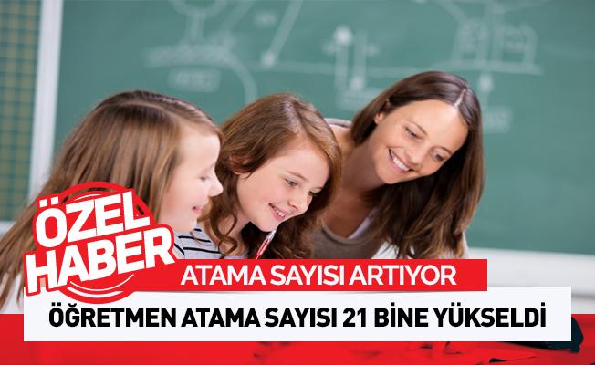 Öğretmen Atama Sayısı Artıyor