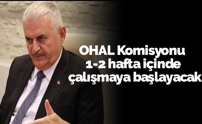 OHAL Komisyonu 1-2 hafta içinde çalışmaya başlayacak