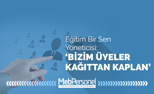 """"""" BİZİMKİLER KÂĞITTAN ÜYE..! """""""