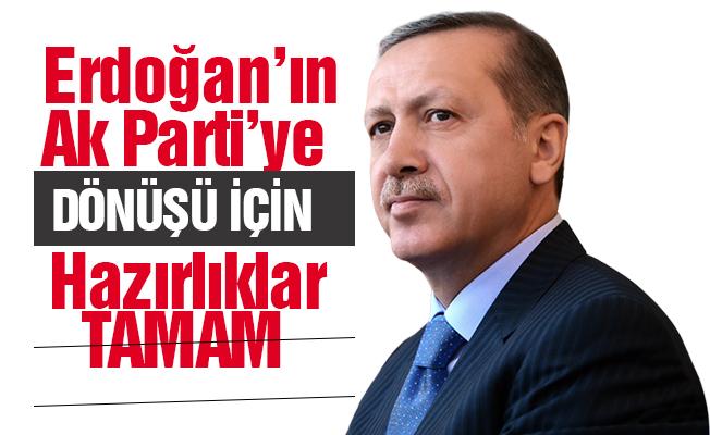 AK Parti'de 'Dönüş' hazırlıkları tamam