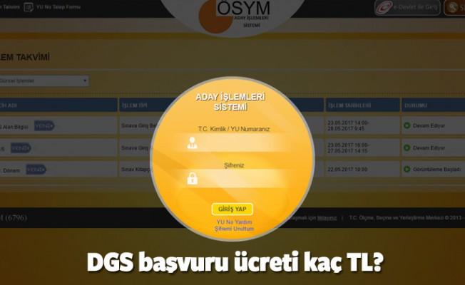 DGS başvurusu nasıl yapılır? 2017 DGS ücreti hangi bankaya yatırılacak