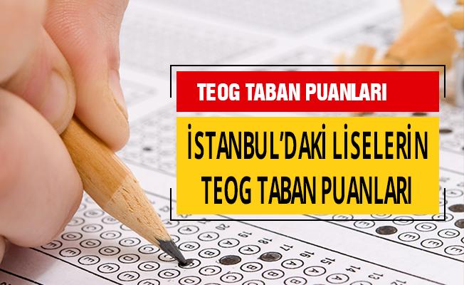İstanbul'daki Liselerin TEOG Taban Puanları