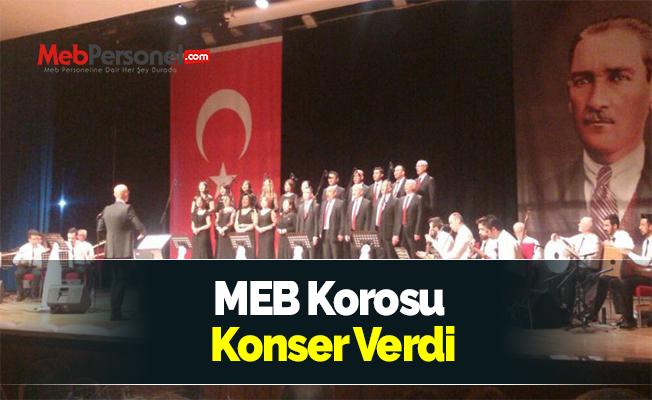 MEB Korosu Konser Verdi