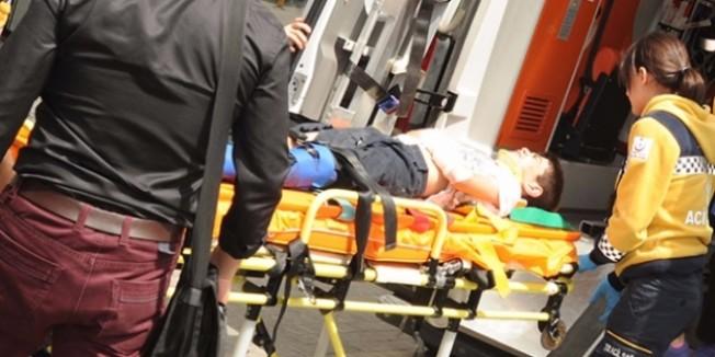 Okul gezisinde trenin altında kalan öğrenci yaralandı