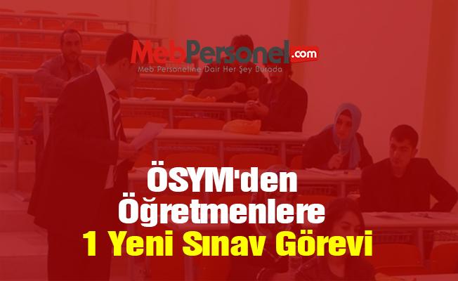 ÖSYM'den Öğretmenlere 1 Yeni Sınav Görevi (Adalet Bakanlığı Sınavları)