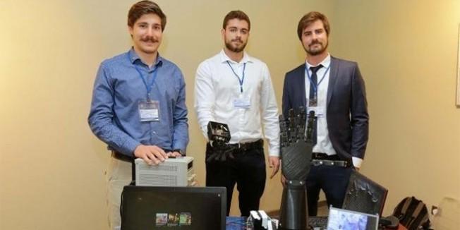 Üniversite öğrencileri bomba imha eden robot tasarladı