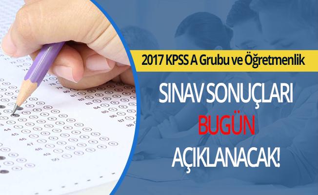 2017 Lisans KPSS Sonuçları Bugün Açıklanıyor!