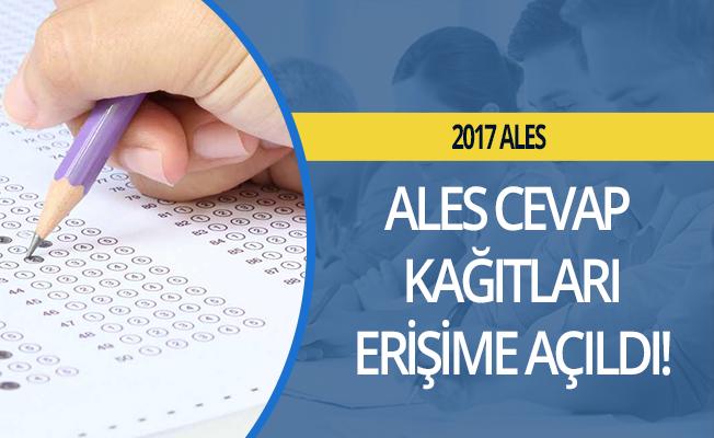 ALES cevap kağıtları adayların erişimine açıldı