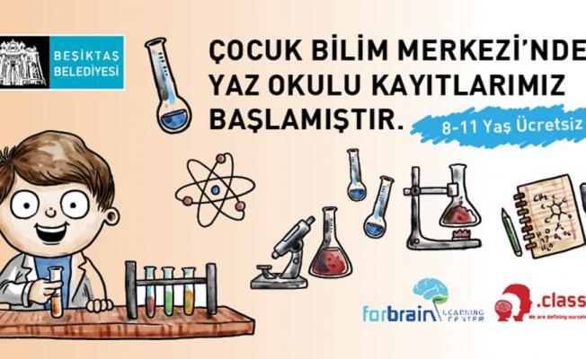 Beşiktaş Belediyesi Çocuk Bilim Merkezi Yaz Okulu Başlıyor!