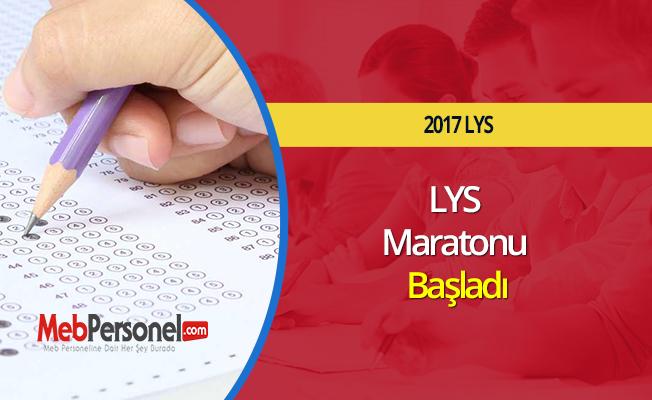 LYS Maratonu Başladı