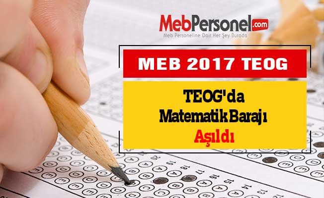TEOG'da Matematik Barajı Aşıldı