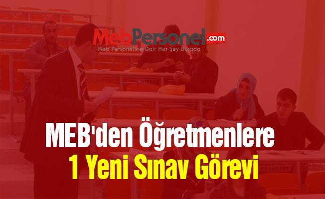 MEB'den Öğretmenlere Bir Yeni Sınav Görevi