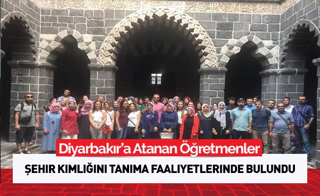 Diyarbakır'da Aday Öğretmenlere Şehir Tanıtımı