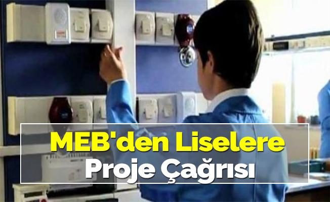 MEB'den Liselere Proje Çağrısı
