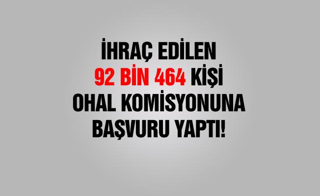 İhraç edilen 92 bin 464 kişi Komisyona başvurdu
