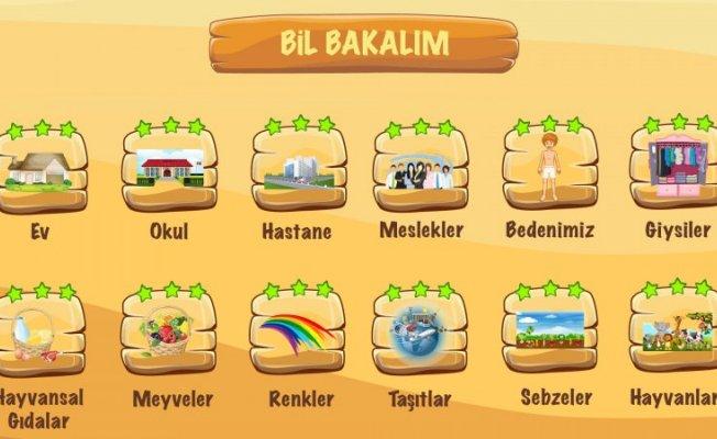 Suriyeli çocuklar için mobil oyun
