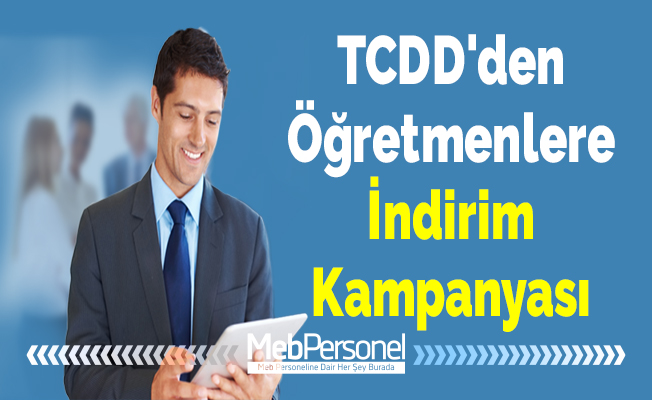 TCDD'den Öğretmenlere İndirim Kampanyası