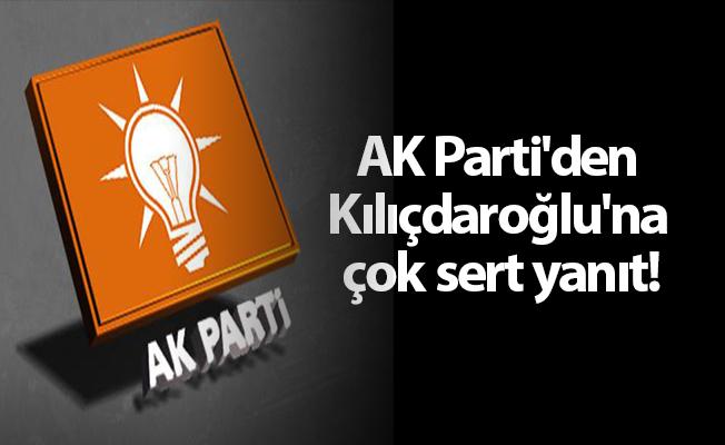 AK Parti'den Kılıçdaroğlu'na çok sert yanıt!