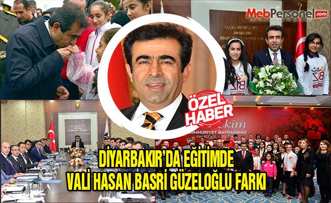 Diyarbakır'da Eğitimde Vali Hasan Basri Güzeloğlu Farkı