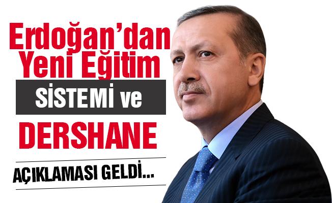 Erdoğan'dan Liselere Geçiş Sistemi Açıklaması