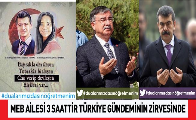 MEB Ailesi Twitter Etkinliğiyle 3 Saattir Türkiye Gündeminin Zirvesinde