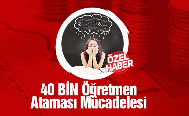 Öğretmen Adaylarından 40 Bin Atama Mücadelesi