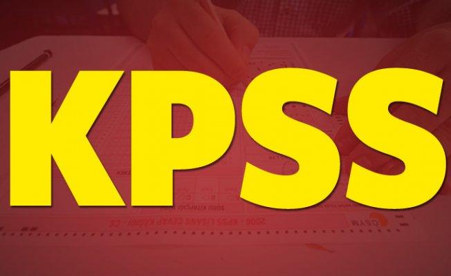 KPSS önlisans ve lisans sınavı ne zaman? (2018)