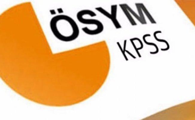 2018 - KPSS önlisans ve lisans sınav tarihi belli oldu mu?