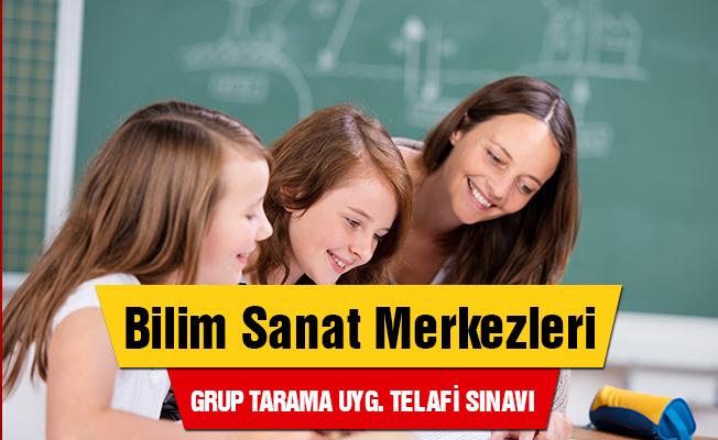 Bilsem Grup Tarama Uygulaması Telafi Sınavı