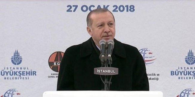 Erdoğan: Kim nerede neyi vermiş anlatacağım