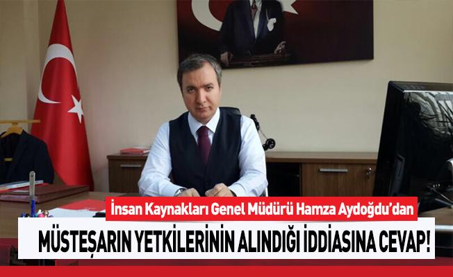 MEB Müsteşarının Yetkilerinin Alındığı İddiasına İKGM Hamza Aydoğdu'dan Cevap