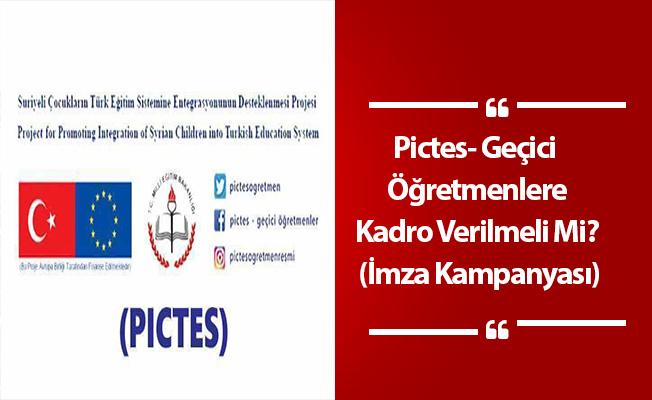 Pictes- Geçici Sözleşmeli Öğretmenlere Kadro Verilmeli Mi? (İmza Kampanyası)
